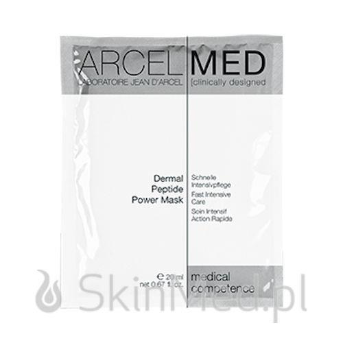 ArcelMed Dermal Peptide Power Mask 5 szt