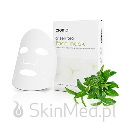 Croma Green Tea Face Mask 8 szt