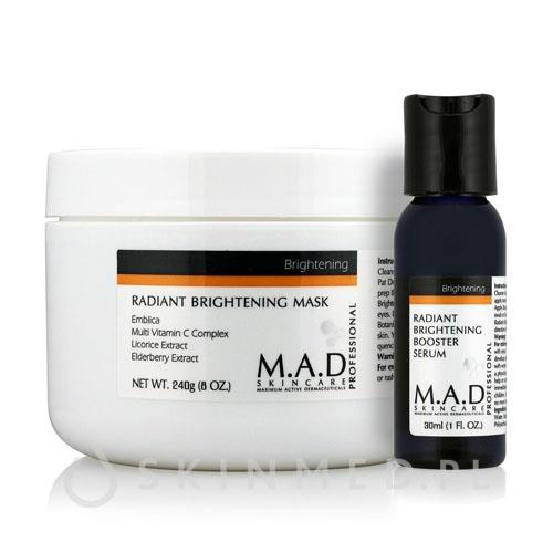 M.A.D Radiant Brightening Mask+Booster 240 ml