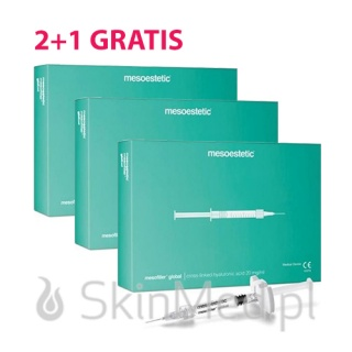 MESOESTETIC Mesofiller Global 2+1 GRATIS